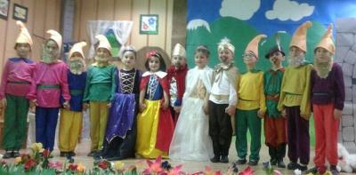 Karşıyaka İlkokulundan Pamuk Prenses ve Yedi Cüceler