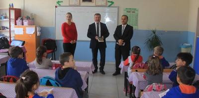 Karşıyaka Okulunda Okuma Etkinliği Yapıldı