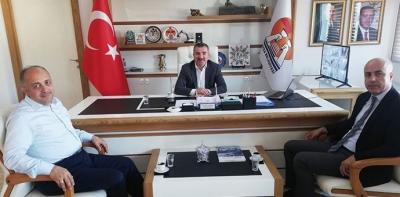 Kasapoğlu'ndan Havza Belediyesine Ziyaret