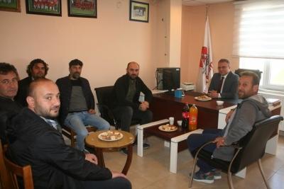 Kaymakam' dan Havza Belediye Spor Kulübüne Ziyaret