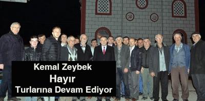 Kemal Zeybek Hayır Turlarına Devam Ediyor