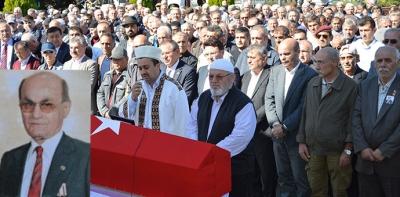 Kıbrıs Gazisi Astsubay Havza'da toprağa verildi