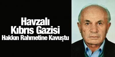 Kıbrıs Gazisi Hakkın Rahmetine Kavuştu