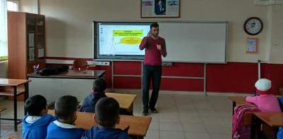 Kırsal Mahalle Okullarında Rehberlik Hizmeti Veriliyor