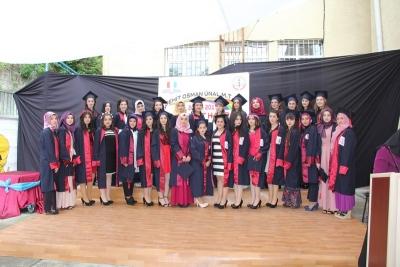 Kız Meslek Öğrencileri Ahi Devran Yemini Etti