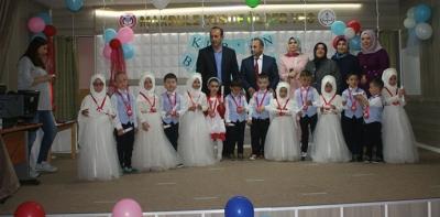 Kuran-ı Kerim Öğrenen Minik Öğrenciler Ödüllendirildi