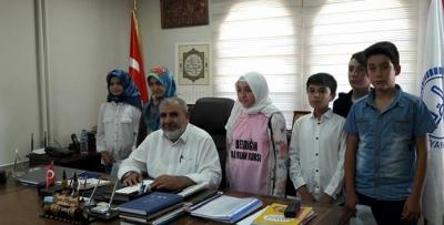 Kur'anı Kerim Ve Dini Bilgiler Yarışması Düzenlendi
