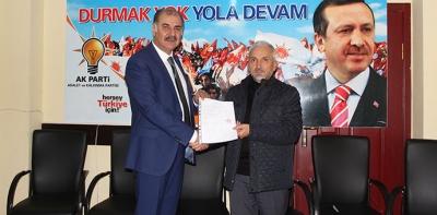 Mahmut Karahan, Ak Parti'den Aday Adaylığını Açıkladı