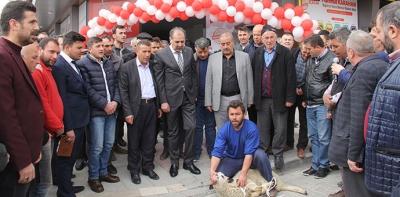 Mahmut Karahan Seçim Bürosunu Açtı