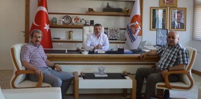 Mehmet Taşan ve Meydin Taşdemir'den Ziyaretler