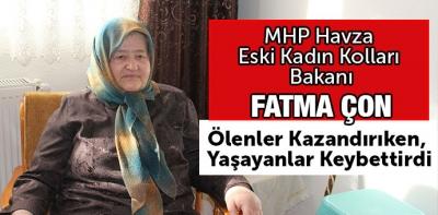 MHP Eski Kadın Kolları Başkanından Açıklama