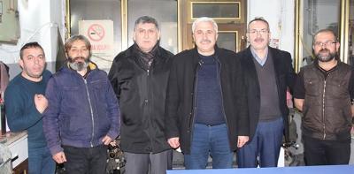 MHP Havza İlçe Teşkilatından Ziyaret