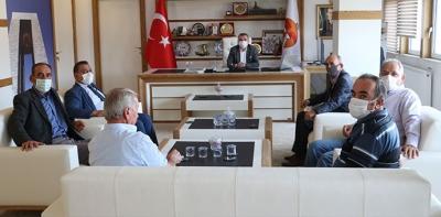 MHP İlçe Teşkilatından Kurum Ziyaretleri