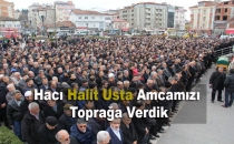 MHP Samsun Milletvekili Usta'nın Babası Hacı Halit Usta Toprağa Verildi-Video Haber