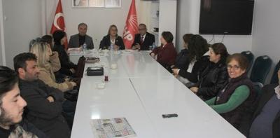 Milletvekili Hancıoğlu'n dan Havza İlçe Teşkilatına Ziyaret