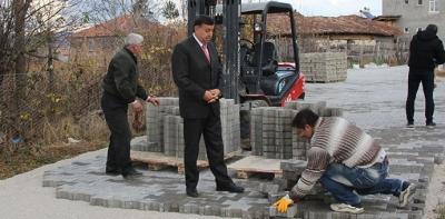 Murat İkiz kırsal mahalle ziyaretleri kapsamında Ilıca Mahallesini ziyaret etti