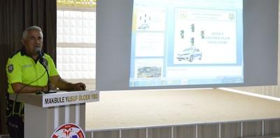 Öğretmenlere Yönelik Trafik Eğitimi Verildi