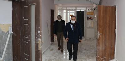 Okul Binalarında Deprem Güçlendirme Çalışmaları Devam Ediyor