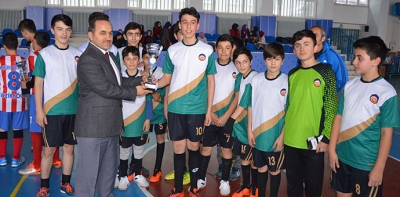 Okul Sporları Güney Bölgesi Futsal Final Maçı Oynandı
