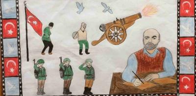 Okullar Arası Mektup ve Resim Yarışması Sonuçlandı