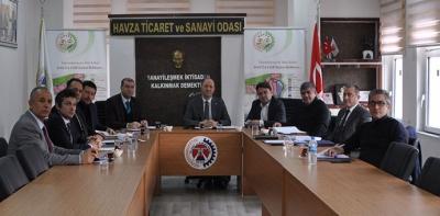 Organize Sanayi Bölgeleri Komisyon Toplantısı Gerçekleştirildi