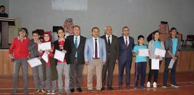 Ortaokullar Arası Bilgi Yarışması Finali Yapıldı