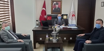 Özdemir Ve Kayan'dan Çevre Ve Şehircilik İl Müdürlüğüne Ziyaret
