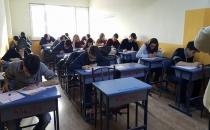 Özel Çamlıca Özel Öğretim Kursu İlk Sınavını Yaptı