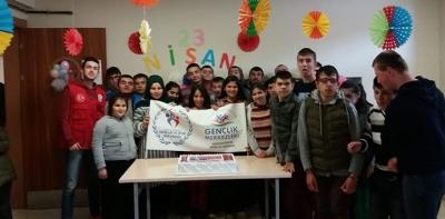 Özel Öğrenciler 23 Nisan'ı Kutladı