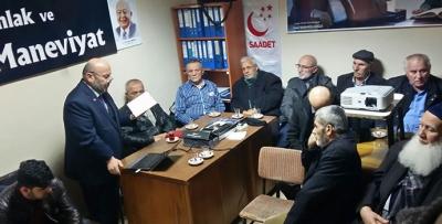 Saadet Partisi'nde Milli Görüş Konferansı