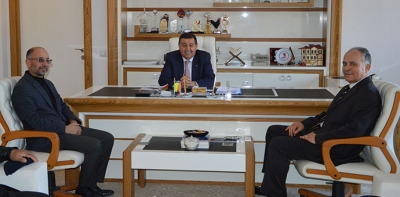 Saadet Partisinden Başkan İkiz'e Ziyaret