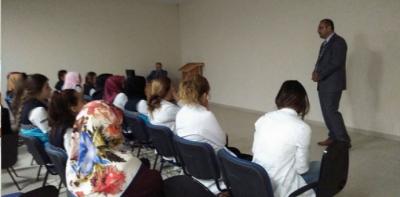 Sağlık Meslek Lisesi Öğrencilerine Eğitim Verildi