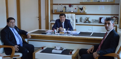 SAMDEF'den Başkan İkiz'e ziyaret