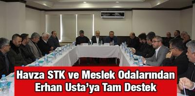 Samsun Milletvekili Erhan Usta'ya STK'lardan Destek