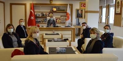Samsun Rotary Kulübünden Başkan Özdemir'e Ziyaret