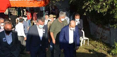 Samsun Valisi Dağlı Ve Ak Parti Samsun Milletvekili Kırçalı'dan Taziye Ziyareti