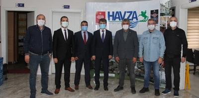 Samsun Vergi Dairesi Başkanı Uzun'dan Havza TSO'ya Ziyaret