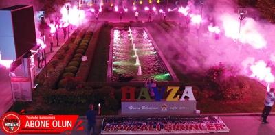 Samsunspor'un 55. Yaşında Havza'da Meşaleli Kutlama- Video Haber