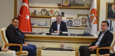SASKİ Genel Müdürü Fatih Yıldız'dan Başkan Özdemir'e ziyaret