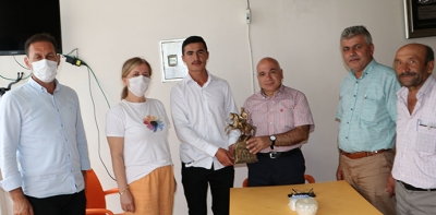 SBB Tarımsal Hizmetler Daire Başkanı Korkmaz Havza Muhtarları Derneğine ziyaret