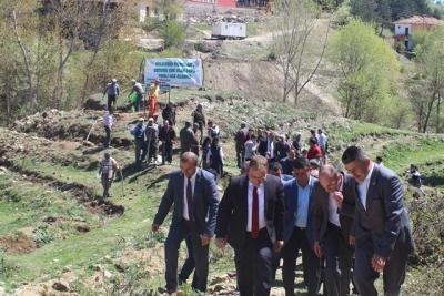 Şehit Cemal Şahin İçin Hatıra Ormanı Oluşturuldu