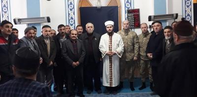 Şehit Jandarma Çavuş Reşit Çakır için Mevlit Okundu