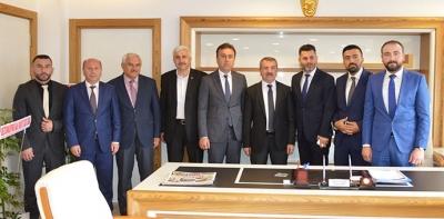 Sevdamız Samsun Platformundan Başkan Özdemir'e ziyaret