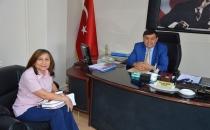 Sosyal Güvenlik Müdüründen Başkan İkiz'e Ziyaret
