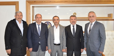 STK'lar Havza Belediyesini Ziyaret Ettiler