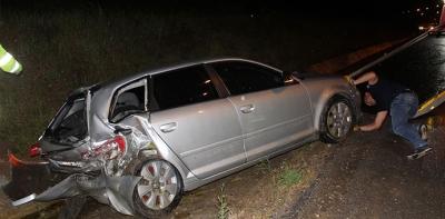 Trafik Kazası 1'i Ağır 3 Yaralı