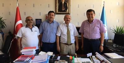 Turizm Okulu ve Uygulama Oteli için Ankara'ya Gittiler