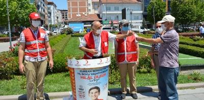 Türk Kızılayı Havza Temsilciliğinden Vekaleten Kurban Çalışması