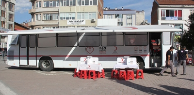 Türk Kızılayı Havza'da 85 Ünite Kan Topladı