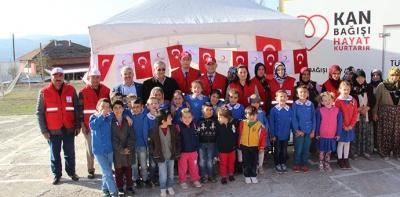 Türk Kızılay'ına Çadırlı Tanıtım